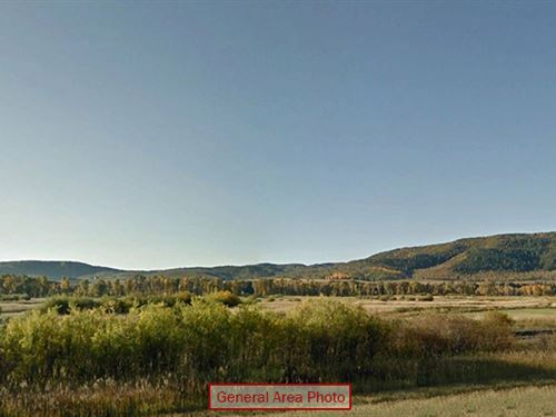 Half-Acre Lot With Mountain Views : Clark : Routt County : Colorado