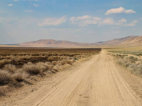 160 Acres In Eureka, NV : Eureka : Nevada