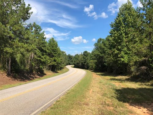 21+/- Ac Gin Branch Farms : Waverly : Lee County : Alabama