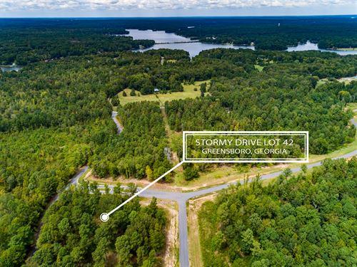 Lot In Harmony Bay At Lake Oconee : Eatonton : Putnam County : Georgia