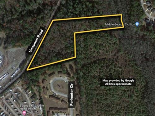 7.91 ac Vacant Land Located MI : Perry : Houston County : Georgia