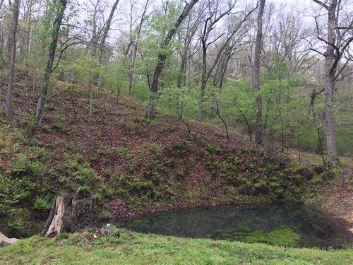 32 M/L Acres : Tahlequah : Cherokee County : Oklahoma