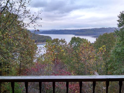 Beaver Lake View Home Land Eureka : Eureka Springs : Carroll County : Arkansas