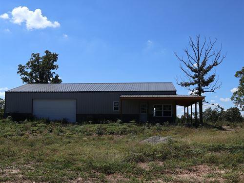 Ozarks Secluded Hunting Property : Salem : Fulton County : Arkansas