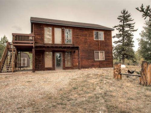 Acreage Mountain Recreational Home : Como : Park County : Colorado