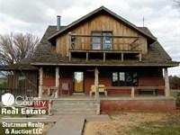 2-Story Home Basement 4.8 Acres : Moscow : Stevens County : Kansas