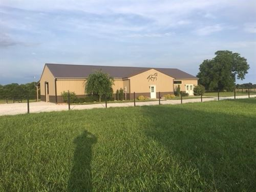 Equestrian Farm Southwest Missouri : Billings : Stone County : Missouri