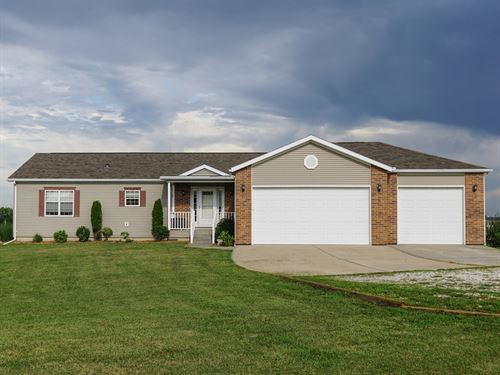 Country Home in Holden, MO 64040 : Holden : Johnson County : Missouri