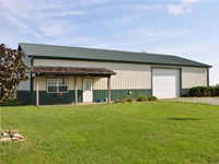 Ranch Style Home 3 Acres Beautiful : King City : Gentry County : Missouri