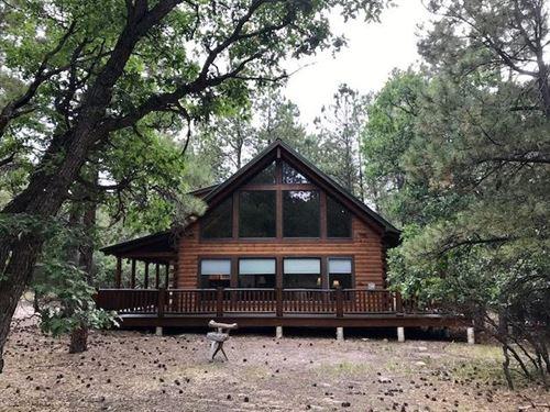 Chama NM Brazos Estates Log Homes : Chama : Rio Arriba County : New Mexico