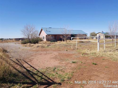 Two Bedroom Home Horse Facilities : Tularosa : Otero County : New Mexico