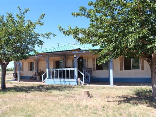 Double Wide on Five Acres : Tularosa : Otero County : New Mexico