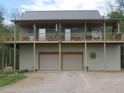 Reduced Wonderful TN River Cabin : Adamsville : Hardin County : Tennessee