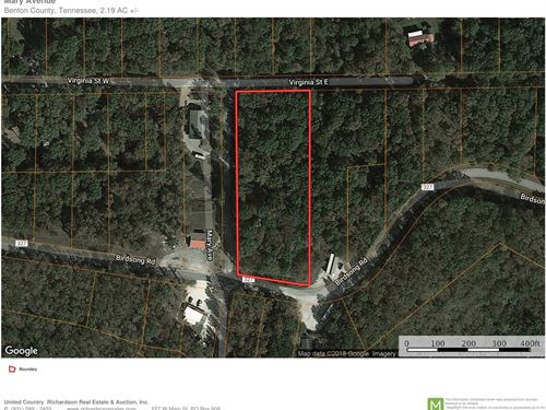 Land For Sale Near Tennessee River : Holladay : Benton County : Tennessee