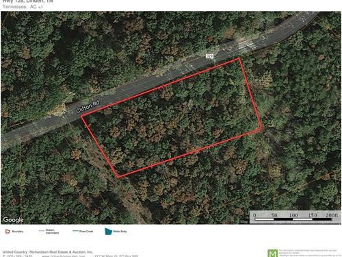 1 Acre Wooded Land Suitable Off : Linden : Perry County : Tennessee
