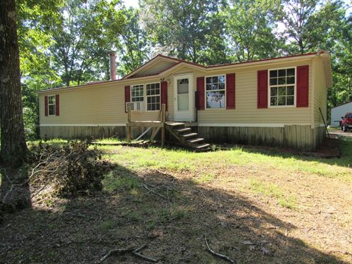 9.62 Acres 3 Bedroom 2 Bath Home : Lobelville : Perry County : Tennessee
