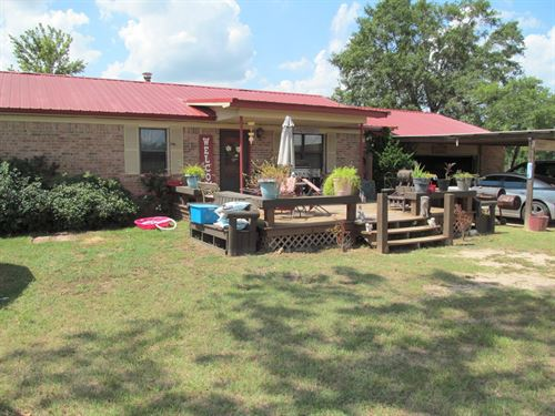 Country Home 3 Acres In East Texas : Winnsboro : Wood County : Texas