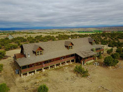 Large Cabin 2.66 Acres Has 6,500 : Duchesne : Utah