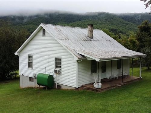 Country Cottage 6 Acres Carroll : Austinville : Carroll County : Virginia
