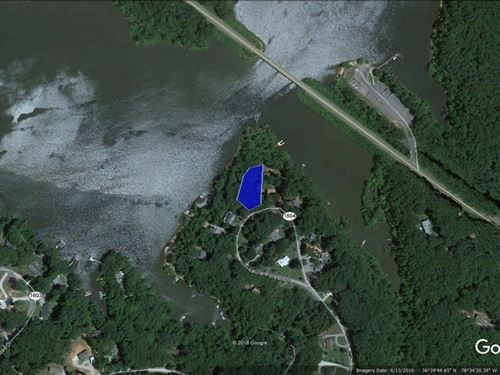 Build Your Lakefront Home Buggs : Clarksville : Mecklenburg County : Virginia