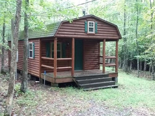 Cabin & 16 Acres Adjoining National : Rural Retreat : Wythe County : Virginia