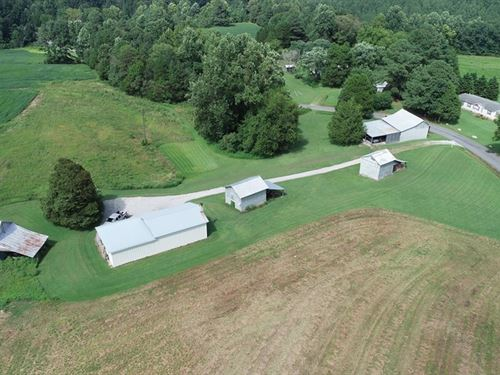 Exceptional Farm In Southern VA : South Hill : Lunenburg County : Virginia
