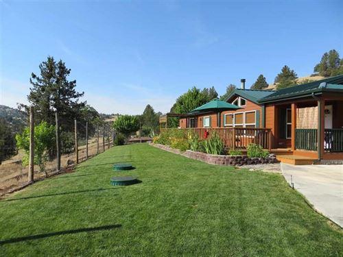 Home For Sale in Northern CA : Yreka : Siskiyou County : California