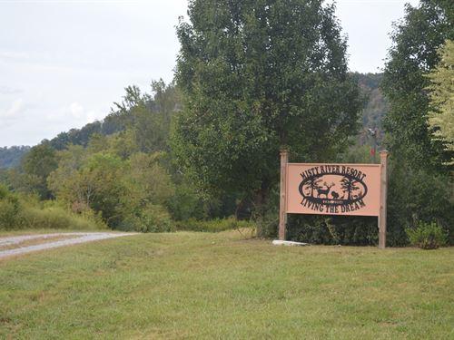 Riverfront Land, Albany, Kentucky : Burkesville : Cumberland County : Kentucky