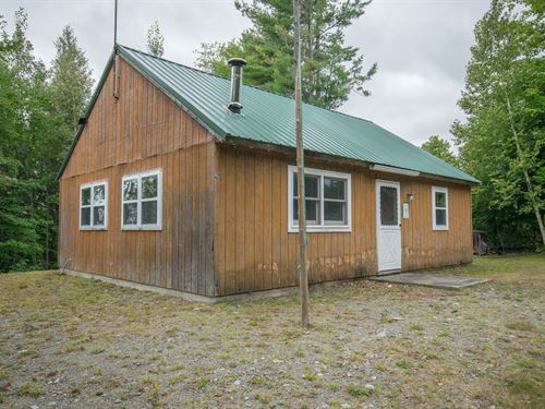Off-Grid Camp For Sale, Milo, Maine : Lincoln : Piscataquis County : Maine