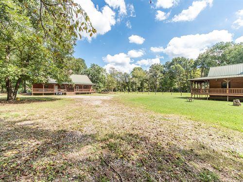 Cabins Lot 4 Acres Broken Bow, OK : Broken Bow : McCurtain County : Oklahoma