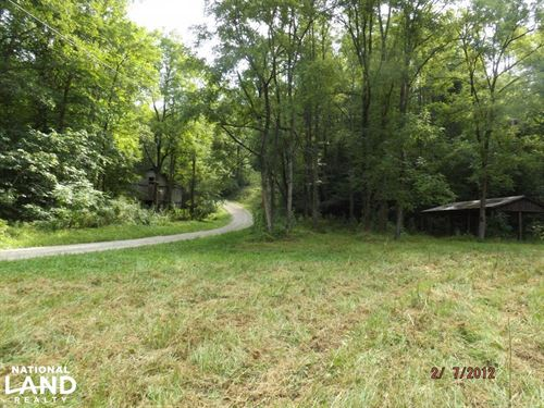 Recreational Land With Creek, Views : Tyner : Jackson County : Kentucky