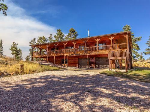 Mountain Country Horse Log Homes CO : Livermore : Larimer County : Colorado