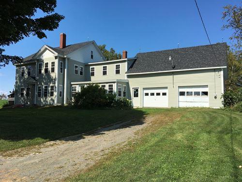 New England Farmhouse, Ripley : Ripley : Somerset County : Maine