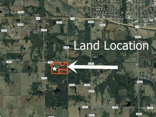 40 Acres of Hunting And Pasture : Coffeyville : Montgomery County : Kansas