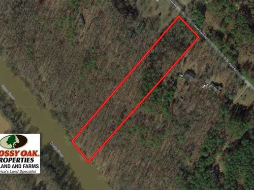 Under Contract, 5.13 Acres of Riv : Moncure : Chatham County : North Carolina
