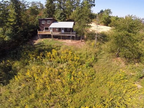 Country Home 4.6 Acres Views : Linden : Perry County : Tennessee