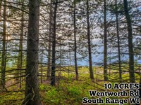 10 Acres Near Lake Superior : South Range : Douglas County : Wisconsin