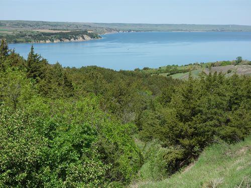 Missouri River Bluffs 11 Acres : Chamberlain : Brule County : South Dakota