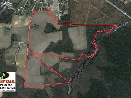 Reduced, 144.73 Acres of Farm And : Pinetops : Edgecombe County : North Carolina