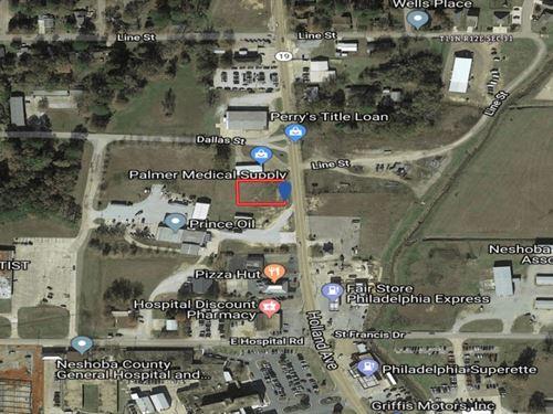 Commercial Property In Neshoba Coun : Philadelphia : Neshoba County : Mississippi