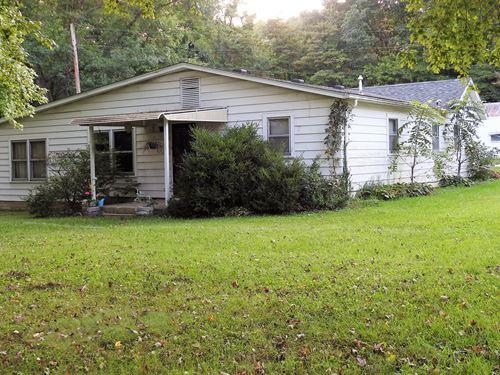 26.8 Acres M/L Woods & Home Sites : West Terre Haute : Vigo County : Indiana