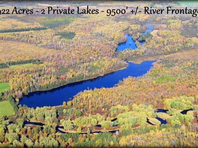 Northwoods Wild Kingdom : Prentic : Price County : Wisconsin