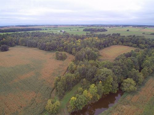 74+ Acres Premier Land Manitowoc : Reedsville : Manitowoc County : Wisconsin