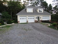 4+ Acres, Home, 3-Bay Garage : Orangeville : Columbia County : Pennsylvania