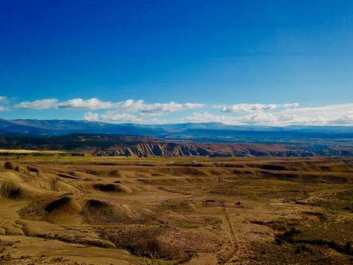 Colorado Vacant Land Property : Eckert : Delta County : Colorado