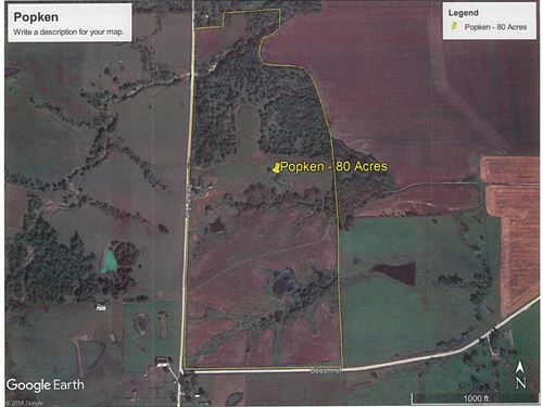 80 Acres Land Located Mercer : Mercer : Missouri