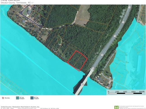 2 Acres TN River Frontage Clifton : Bath Springs : Decatur County : Tennessee