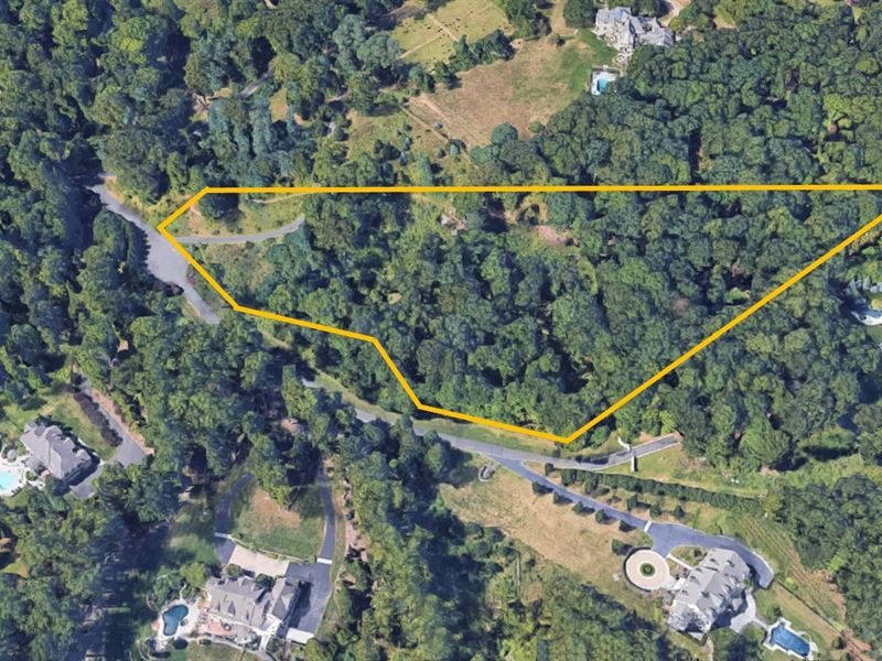 6.4+/- Acre Estate Lot : Bernardsville : Somerset County : New Jersey