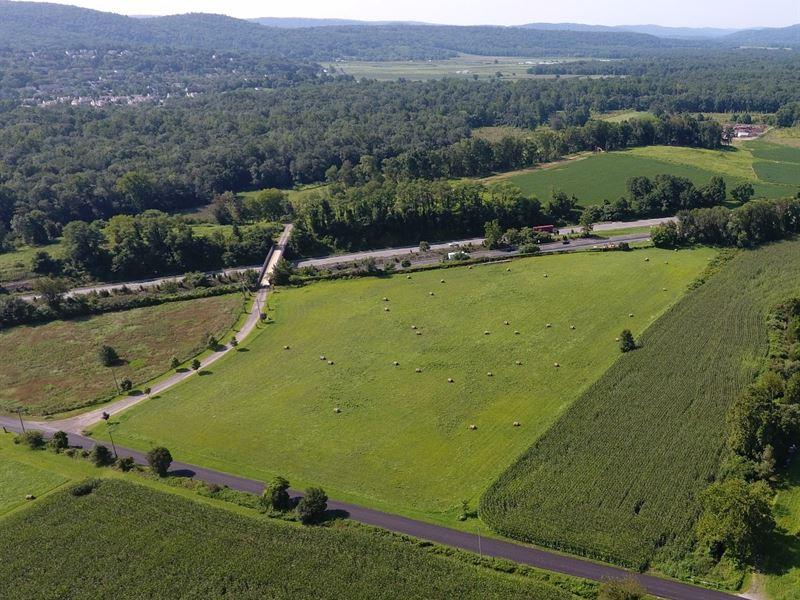 64.18+/- Acres Preserved Farm : Andover : Warren County : New Jersey