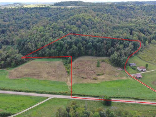 Yoker Valley Rd, 10 Acres : Quaker City : Guernsey County : Ohio